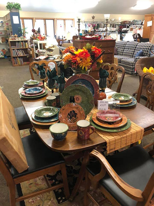 Resale Shop at Bargains Unlimited in Door County